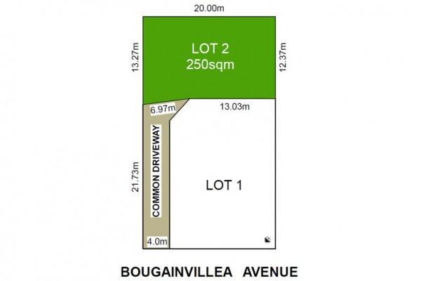 2 45 Bougainvillea Avenue FF- Site plan- Kea1